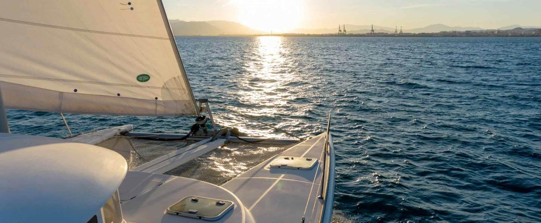 Alquiler catamarán en Málaga con patrón