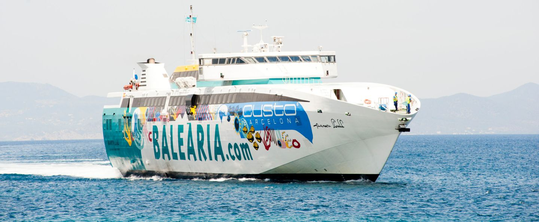 Barco de Mallorca a Menorca