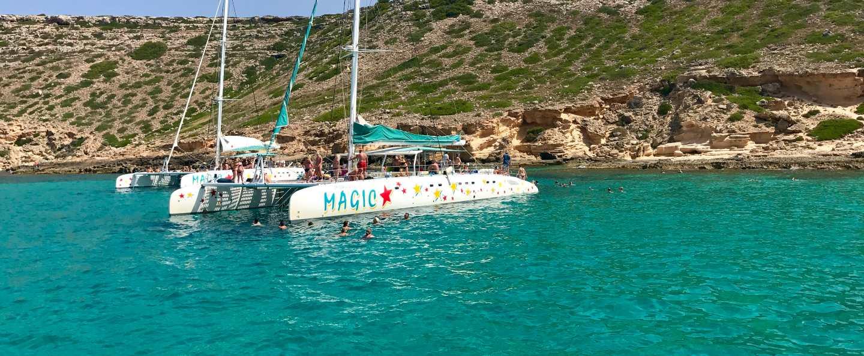 Excursión en catamarán Palma de Mallorca