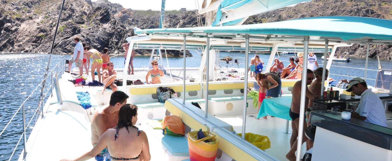 Paseo en catamarán Bahía de Palma
