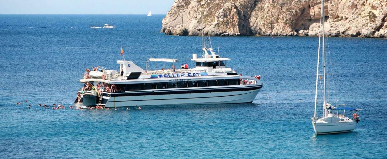 Excursión en barco desde Palma de Mallorca