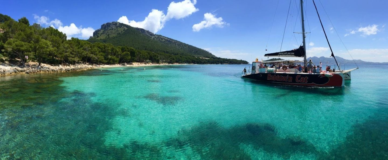 Excursión en catamarán Bahía de Pollensa