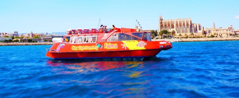 Barco turístico de Palma de Mallorca