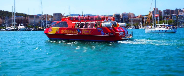 Excursión en barco Palma de Mallorca