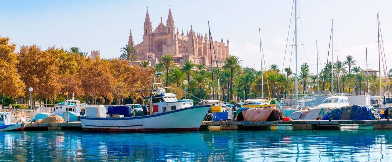 Paseo barco Bahía de Mallorca