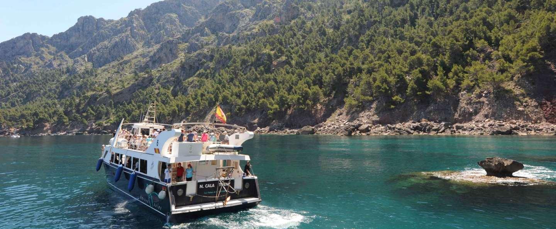 Barco Soller a Sa Calobra