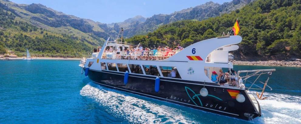 Excursión en barco a Sa Calobra desde Soller