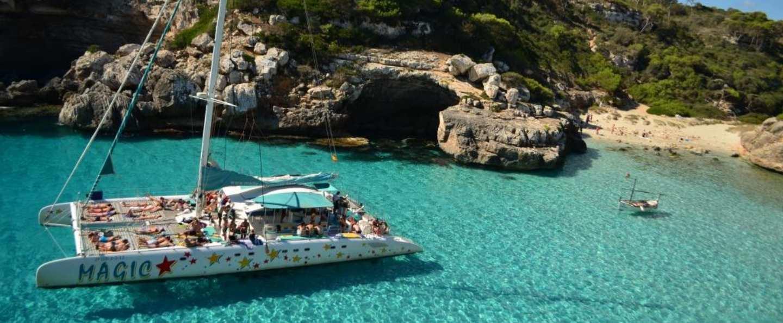Paseo barco Calas de Mallorca