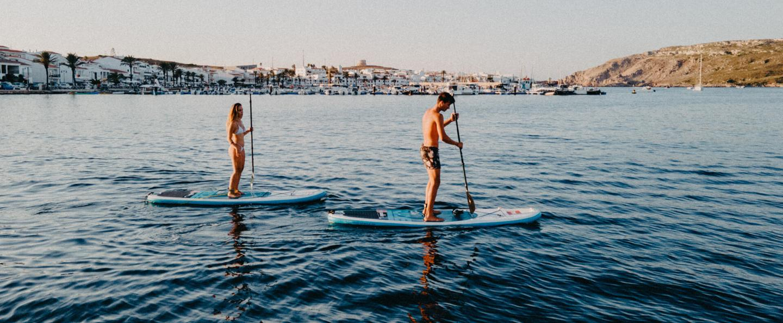 Paddle Surf en Fornells