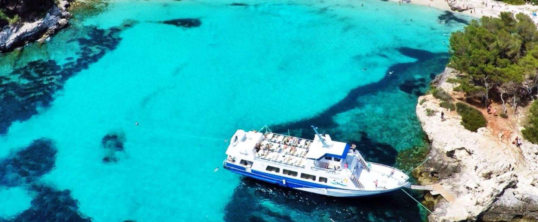 Excursión en barco desde Ciudadella
