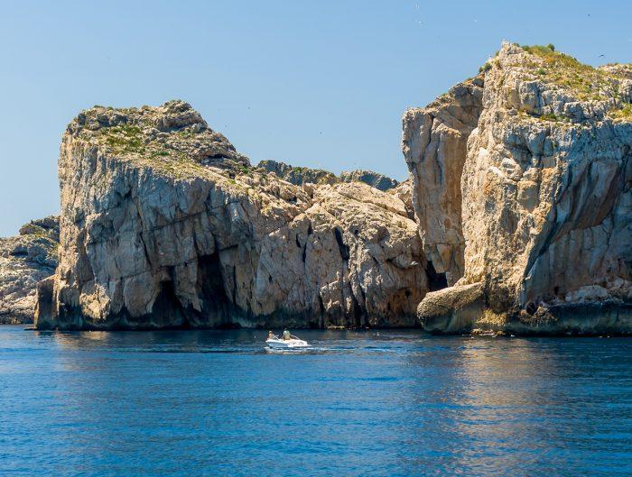 Barco islas Medes