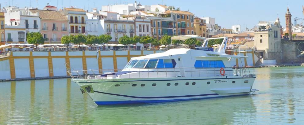 Paseo Guadalquivir en barco con almuerzo o cena