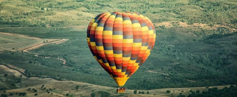 Vuelo en globo para dos en Sevilla
