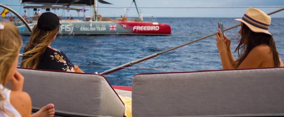 Paseo en catamarán en Costa Adeje