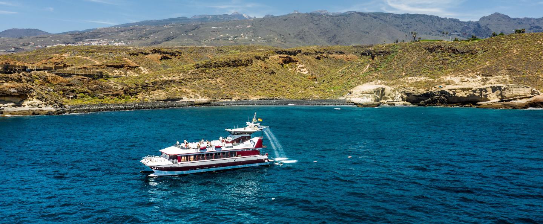 Excursión en barco desde Costa Adeje