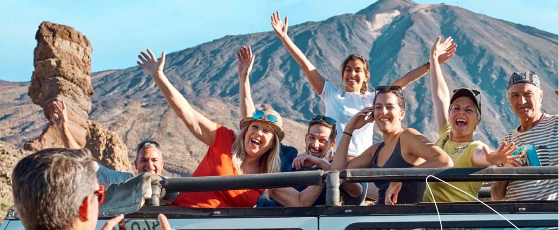 Excursión 4x4 al Teide