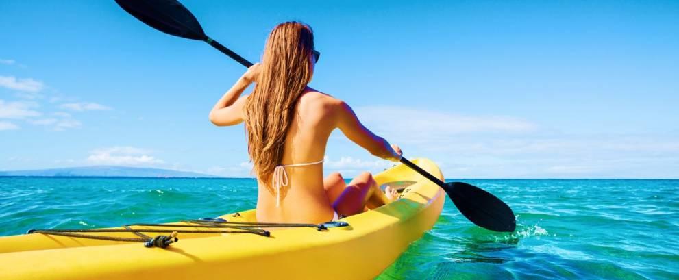 Excursión en kayak en Los Cristianos de Tenerife