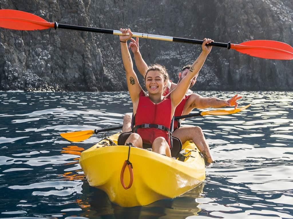 Kayak y Snorkel en Los Cristianos