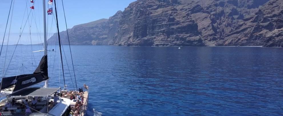 Excursión barco a Los Gigantes desde Puerto de la Cruz