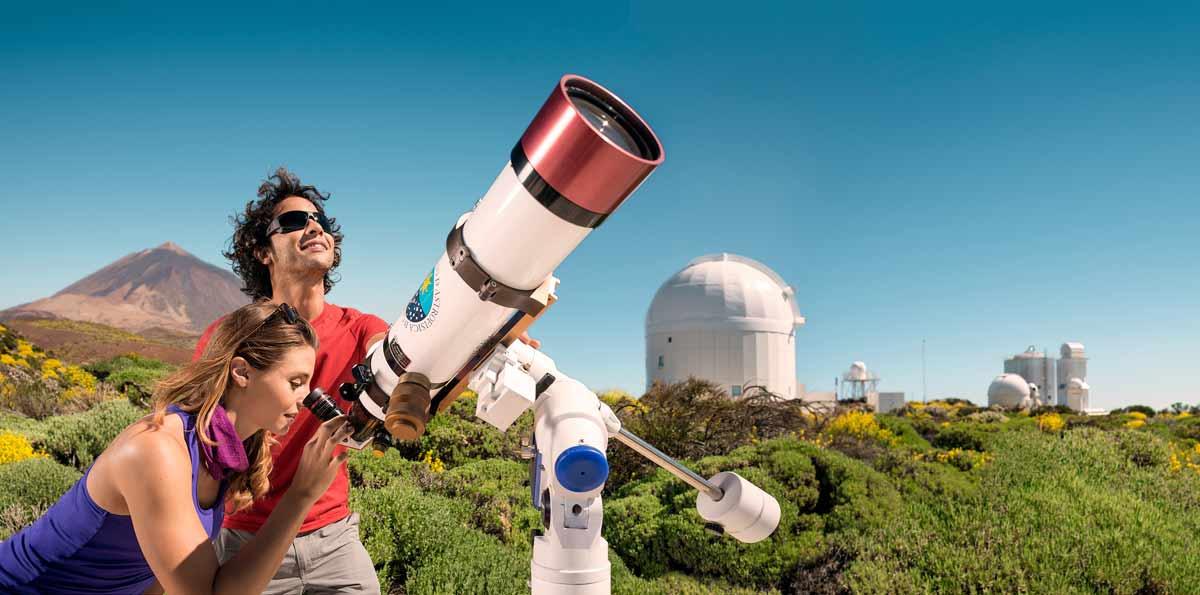 Visita guiada al Observatorio del Teide