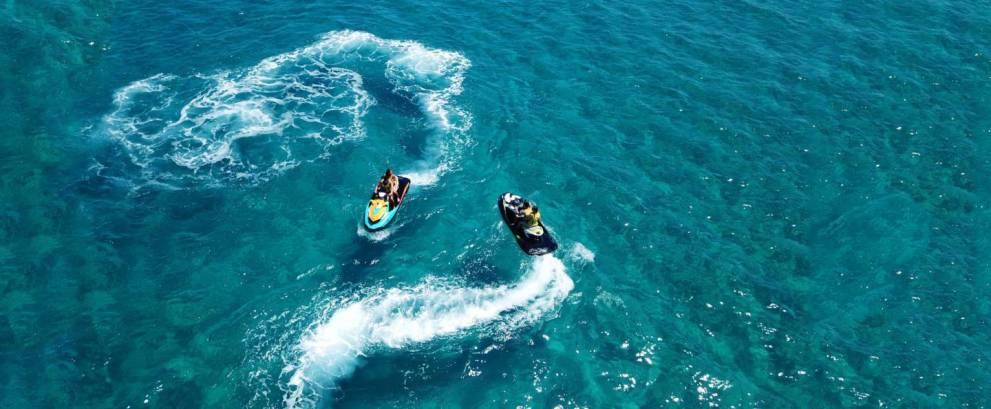 Tour moto de agua en Las Galletas