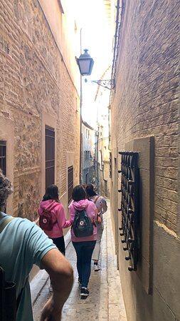Calles de Toledo con guía