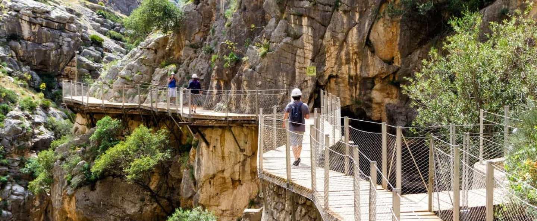 Excursión al Caminito del Rey desde Torremolinos