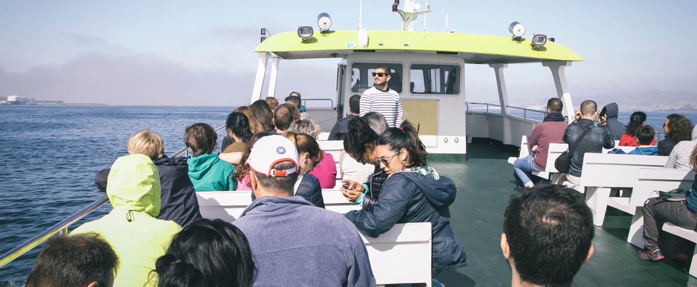 Barco de Vigo a Isla San Simón