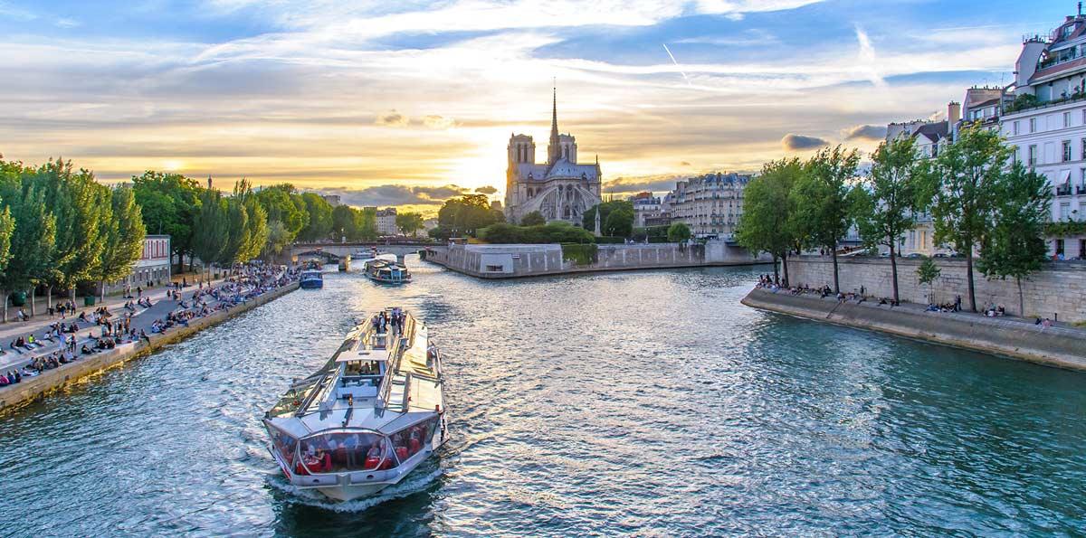 Crucero por el río Sena con Cena