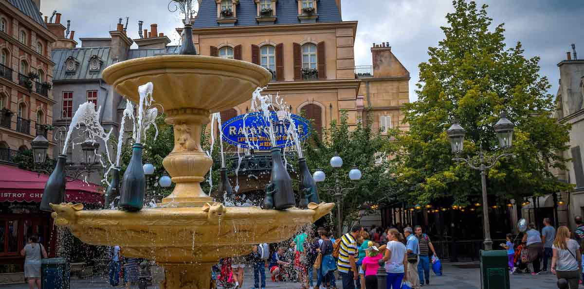 Disneyland from Paris with Tickets and Bus