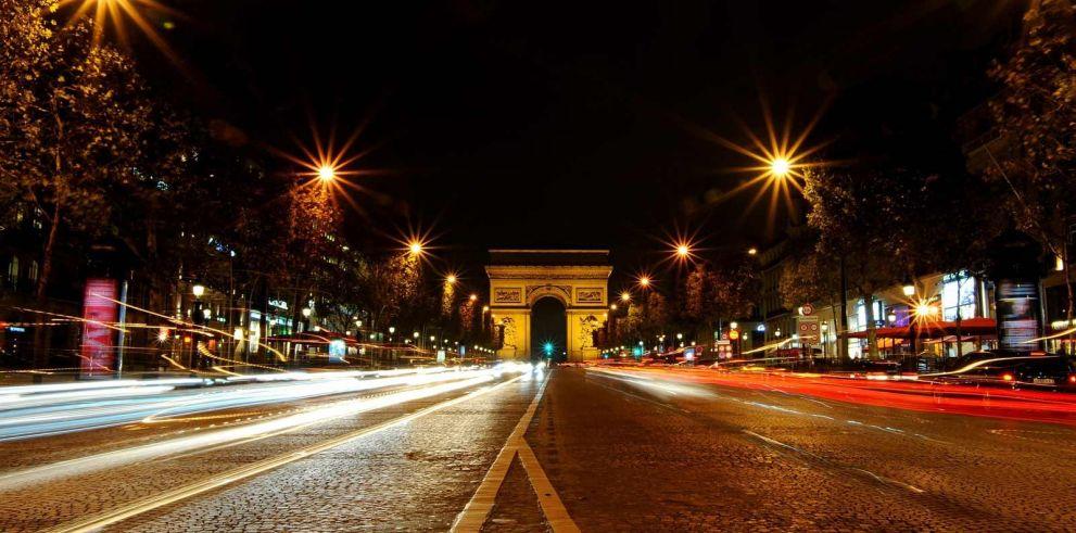 Tour nocturno por París