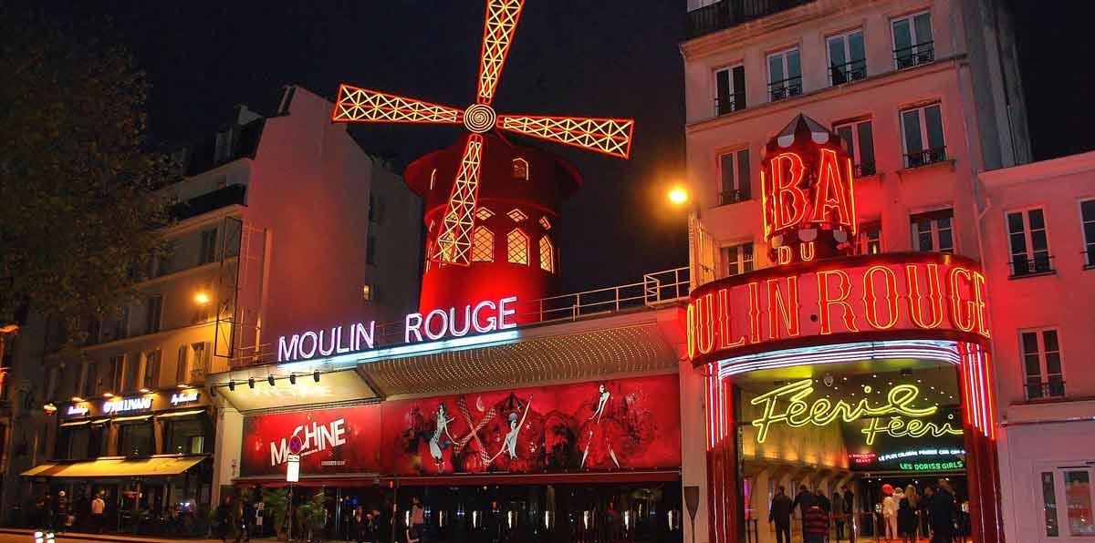 Paris Night Tour and Moulin Rouge Cabaret
