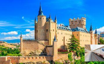 Segovia en un día desde Madrid: Tren de ida y vuelta \+ Visita guiada