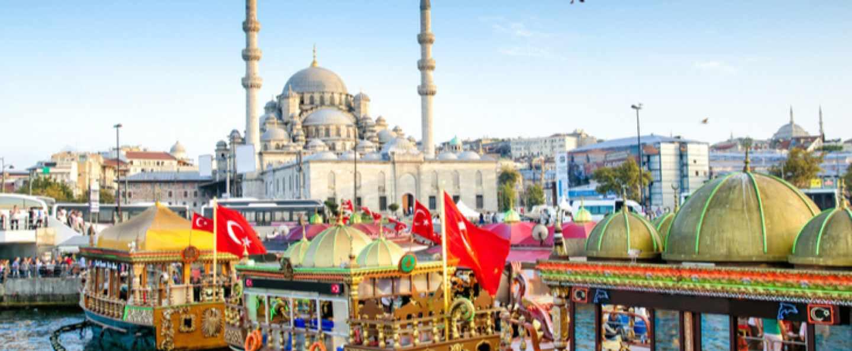 Crucero por el Bósforo y Bazar Egipcio