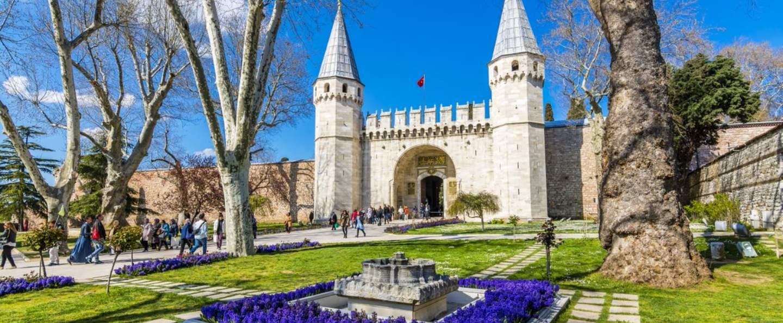 Visita guiada por el Palacio Topkapi y Tumba de los Sultanes